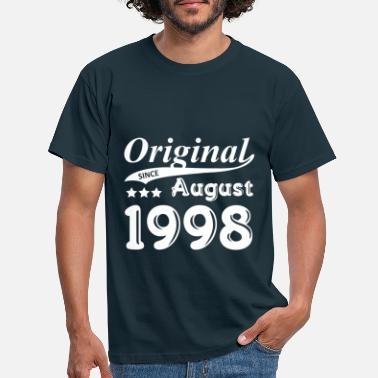 1998 August Original Since August 1998 - Men's T-Shirt