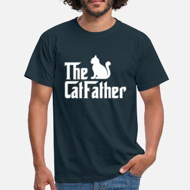 Cat The Cat Father, cat father, lover gift - Mannen T-shirt