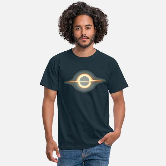 Space T-Shirts - Black hole, Portal, Infinity, Universe, Outer - Men's T-Shirt navy