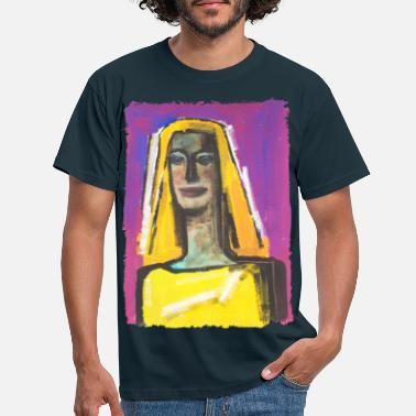 Blond woman - Men's T-Shirt