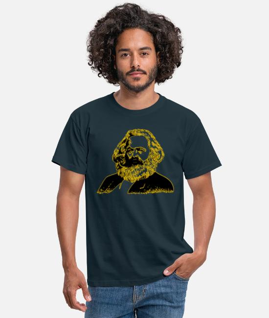 Social T-Shirts - Karl Marx - Men's T-Shirt navy
