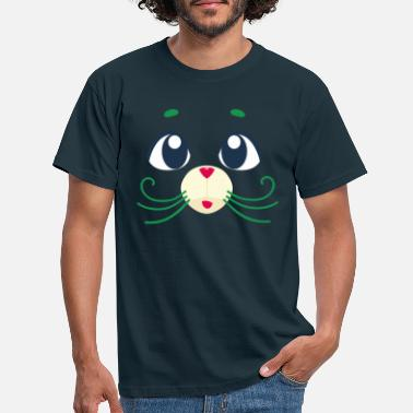 Cotton Candy Mouse grün - Männer T-Shirt