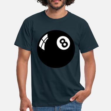 Ball eight_ball__f2 - Men's T-Shirt