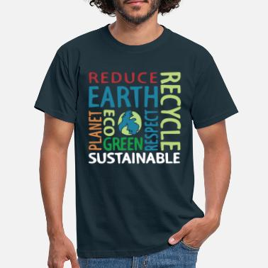 Eco Earth and Eco - Men's T-Shirt