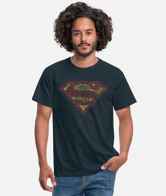 Superhero T-shirts - Superman Logo Teenager T-Shirt - T-shirt mænd marineblå