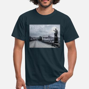 Carlos Carlo bridge - T-shirt herr