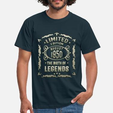 1950s Born in August 1950. 70th birthday present - Men's T-Shirt