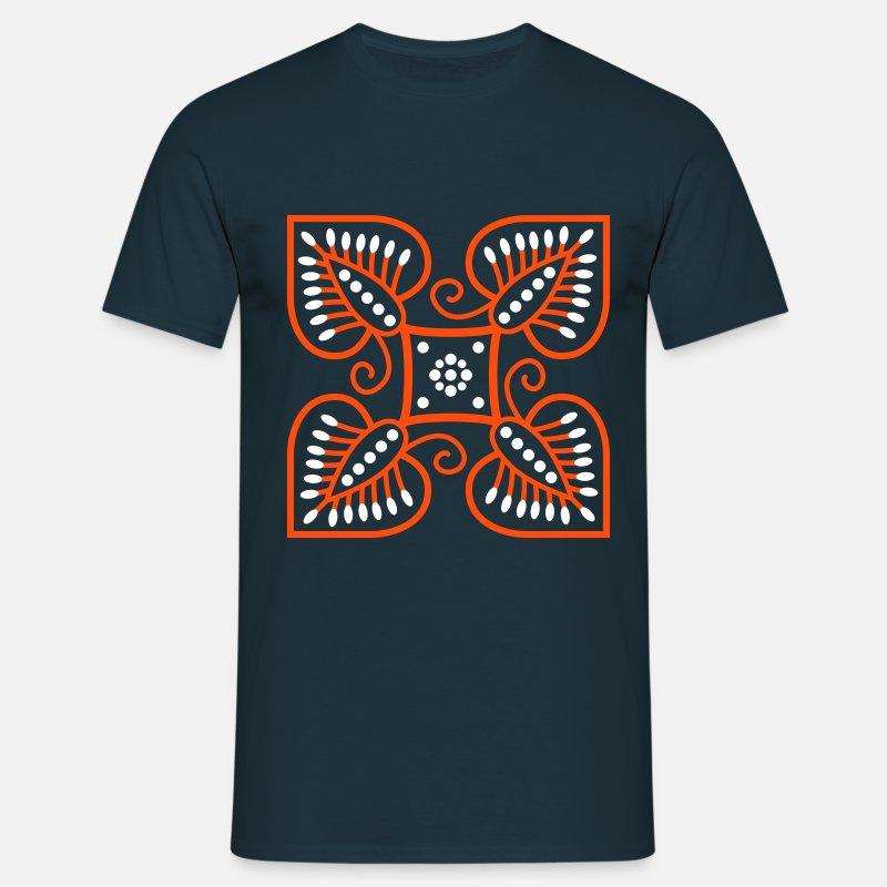 batikk t-skjorte menn