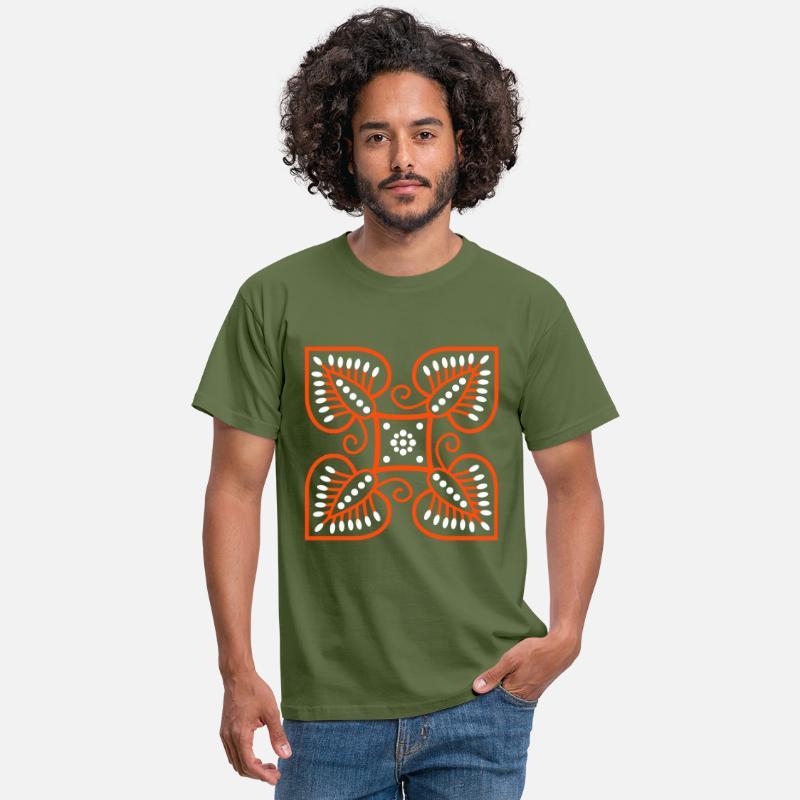 batikk T skjorte for menn   Spreadshirt