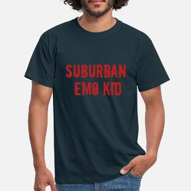 Emo Style surburban emo kid - Men's T-Shirt