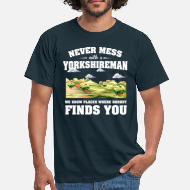 Yorkshire Countries Yorkshire - Men's T-Shirt