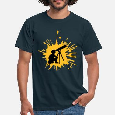 Telescope Telescope graffiti drops - Men's T-Shirt