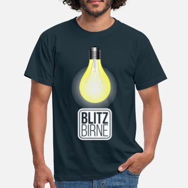 Clever Lightbulb Clever Clever - T-shirt herr
