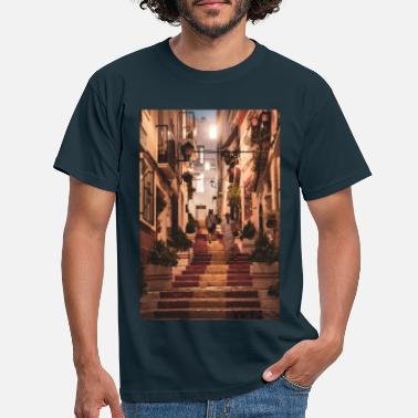 Spanish stairs - Men's T-Shirt