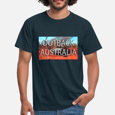 Outback outback australia - T-shirt Homme