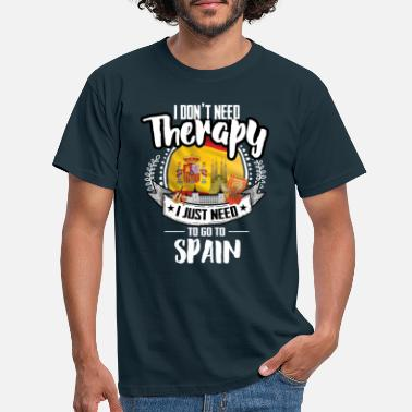 Spain Therapy Spain - Men's T-Shirt