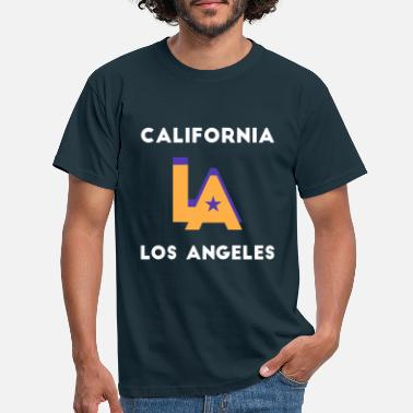 Southern California Los Angeles California retro city - Men's T-Shirt