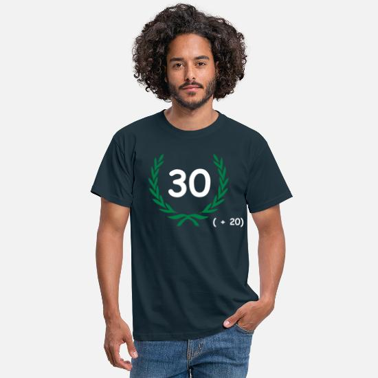 Birthday T-Shirts - 50 birthday - Men's T-Shirt navy