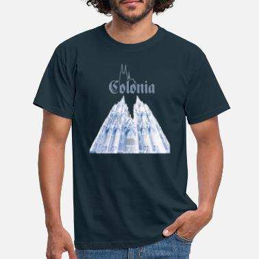 Colonia Colonia Cologne Cathedral - Men's T-Shirt