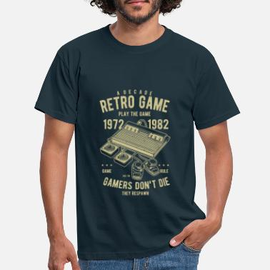 Retro Game Figuren Retro Gamer - Männer T-Shirt