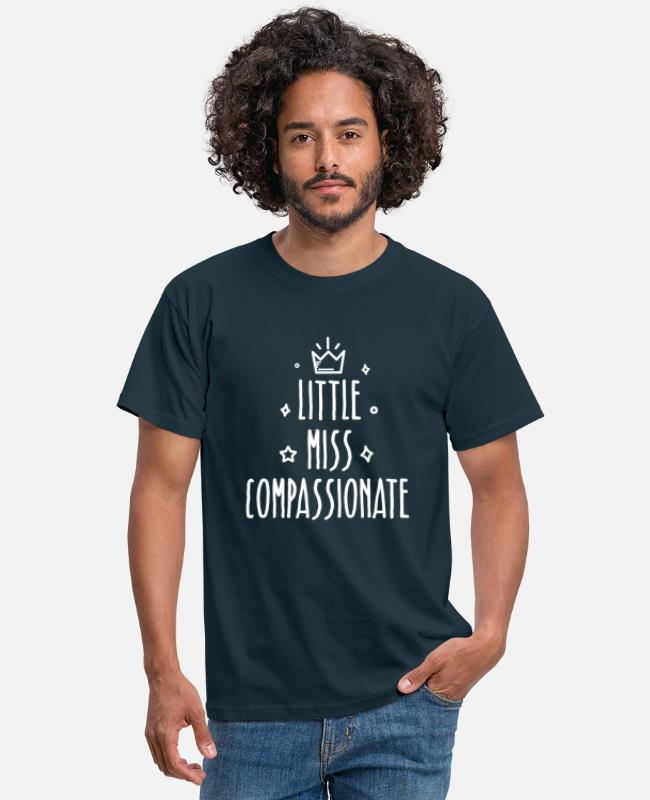 Little Italy T-Shirts - Little miss Compassionate - Männer T-Shirt Navy