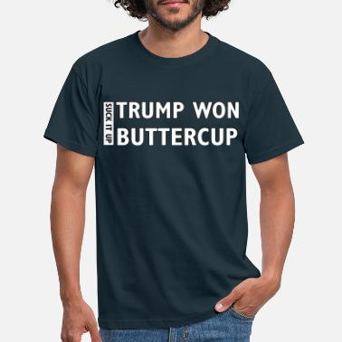 Won Trump Won - Men's T-Shirt