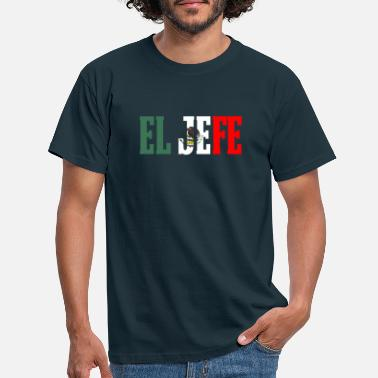 Hefe EL HEFE meksikansk design meksikansk flaggdesign for - T-skjorte for menn