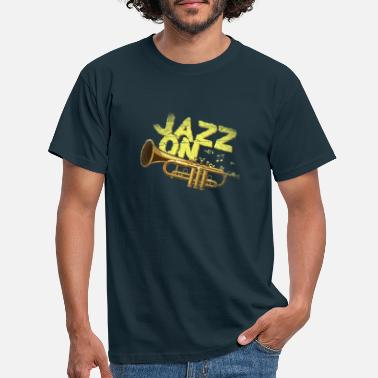 Trumpeter Trumpet jazz music trumpeter - Men's T-Shirt