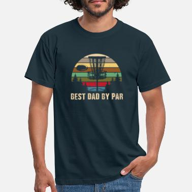 By Best Dad By Par Shirt - Disc Golf Dad T Shirt - C - T-skjorte for menn