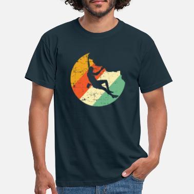 Rock Climbing Cool Rock Climbing Shirt - Mountain Climbing Tools - Men's T-Shirt