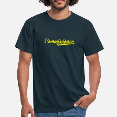 2017 Fantasy Baseball Design Commissioner 2017 - Men's T-Shirt