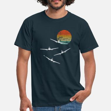 Aerobatic Model flying pilot model flying - Men's T-Shirt