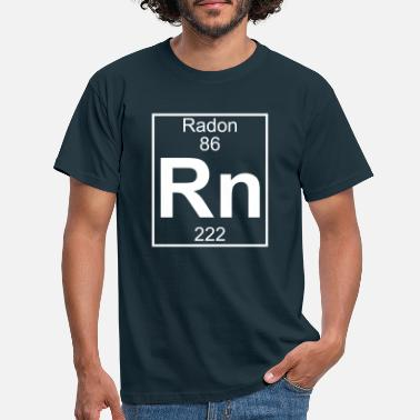 Radon Element 086 - Rn (radon) - Full - Männer T-Shirt