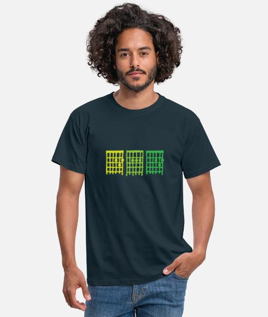 Guitar T-Shirts - DAD Guitar chords, father, rock star, green - Men's T-Shirt navy