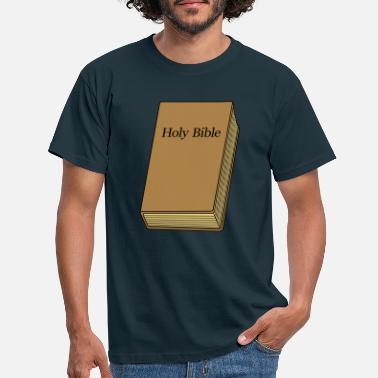 Evangelical Holy Bible book - Men's T-Shirt