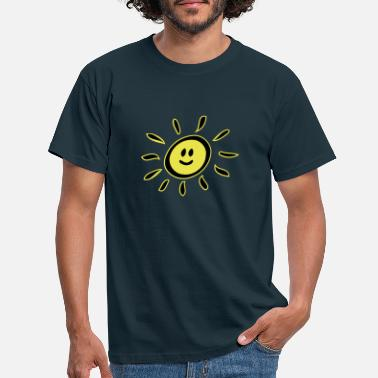 Smiley sun - Men's T-Shirt