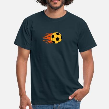 Tor brennender Ball - burning ball - Männer T-Shirt