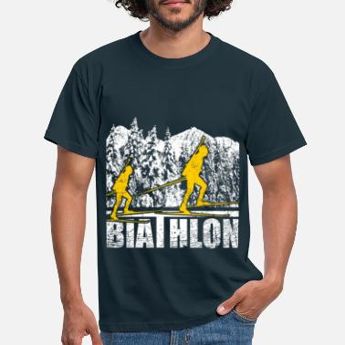 Mr. Biathlon Pursuit biathlon - Men's T-Shirt