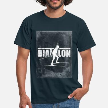 Mr. Biathlon Biathlon men's biathlon - Men's T-Shirt