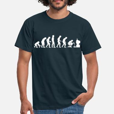Gamer gamers evolution - T-shirt mænd