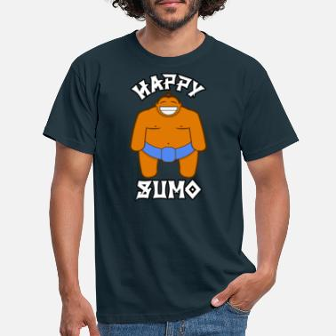 Sumo HAPPY SUMO - FULL SIZE - Männer T-Shirt
