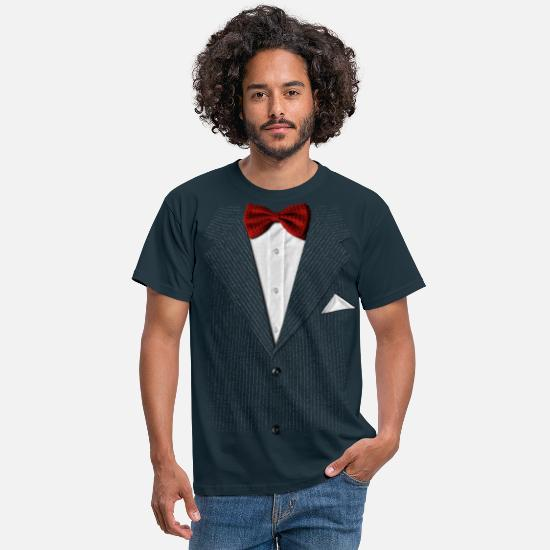 Costume T-shirts - bow tie - T-shirt Homme marine
