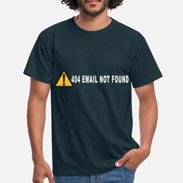 Email email not found - Men's T-Shirt