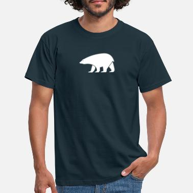 Cold polar bear - Men's T-Shirt