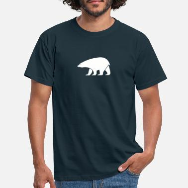 Drawing polar bear - Men's T-Shirt