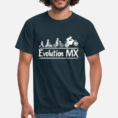 Evolution Motocross MX - Männer T-Shirt