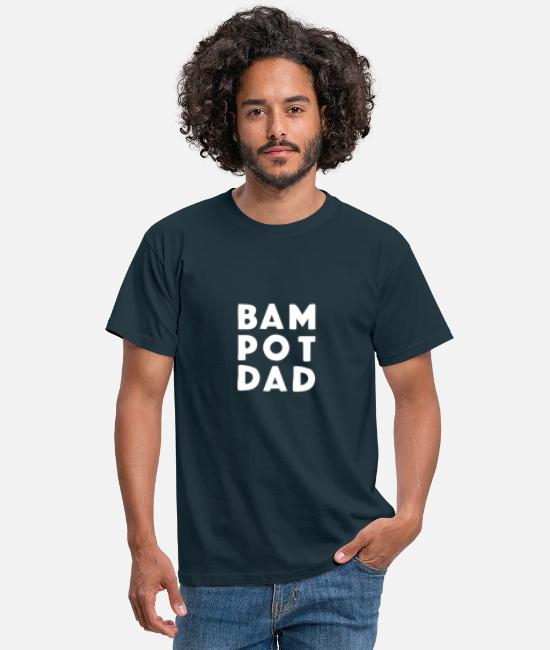 Father's Day T-Shirts - Bampot DAD! Father's Day, Scottish banter gift da! - Men's T-Shirt navy