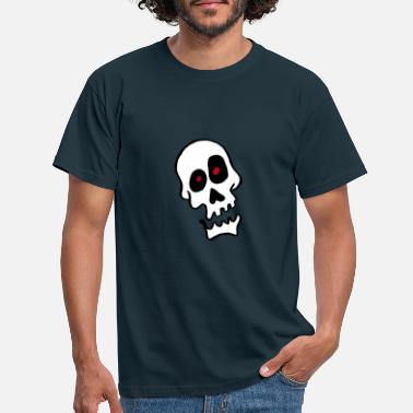 Skull And Crossbones Skull - Men's T-Shirt