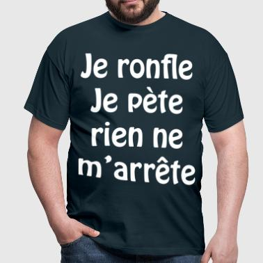 Je ronfle... - T-shirt Homme
