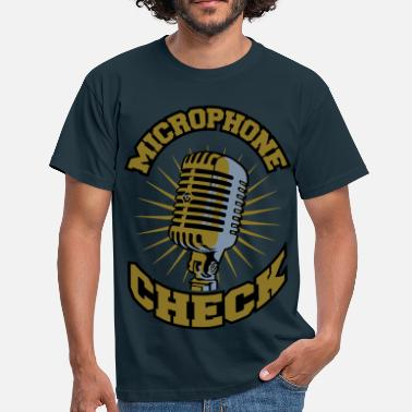 Check Microphone check - T-shirt Homme